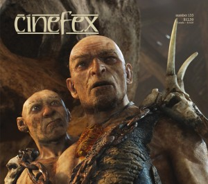 Cinefex cover April 2013