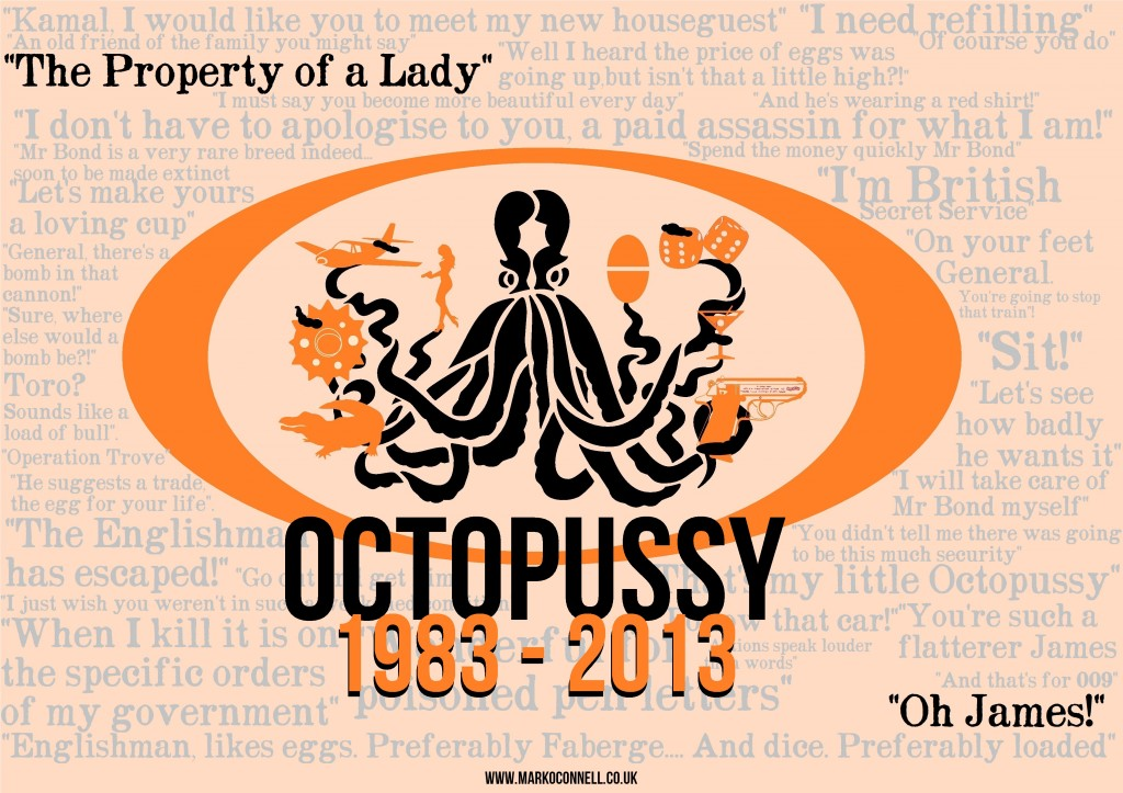 'Octopussy @ 30' by Mark O'Connell, used with kind permission