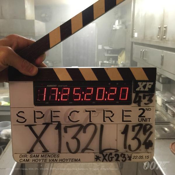 Spectre Clapperboard #10